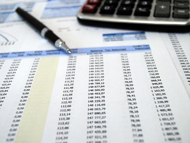 Tax preparer papers